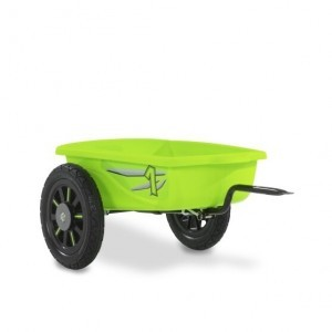 Exit Spider Green and Cheetah Pedal Go-kart Trailer - Green