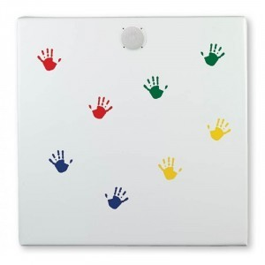 Musical Hand Wall - Square - Explore your senses (28250)