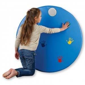 Musical Hand Wall - Round - Explore your senses (28251)