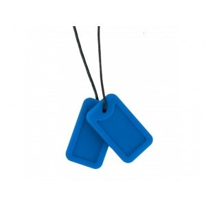 Chewigem Bite Chain Dog Tags Marine