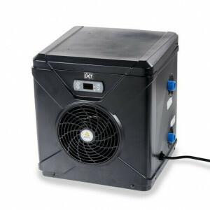 EXIT pool heat pump 22m3 - black