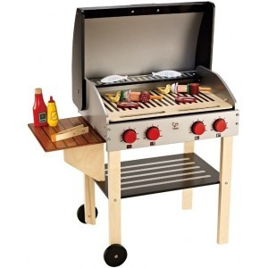 Barbecue - Hape incl. 21 piece basic set