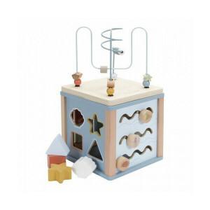 Little Dutch Wooden Activity Cube Ocean