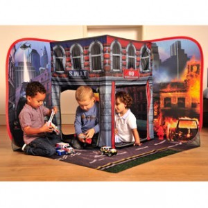 Fire station play set 3D