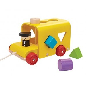 Shape Stew Bus, Sorting Bus - Plan Toys (4005121)