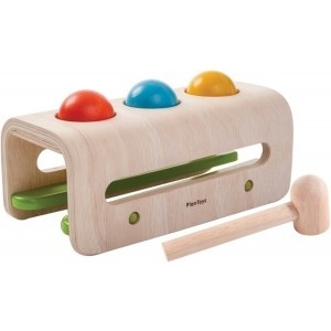 Hammer Ball Toy For Motor Skills - Plan Toys (4005348)