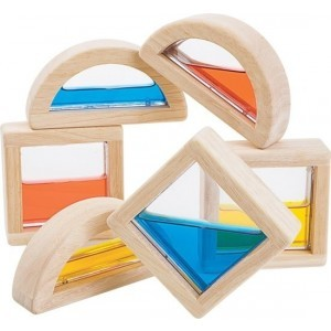 Water blocks 6 Pieces - Plan Toys (4005523)