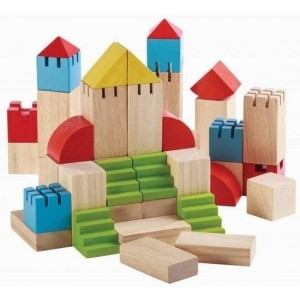 35 mm 46 Creative Blocks - Plan Toys (4005527)