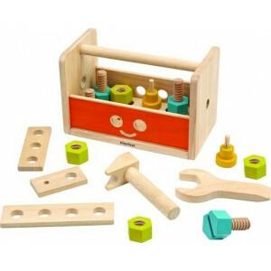 Robot Tool Box Toy for Motor Skills