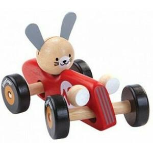 Racing Car - Rabbit - Red