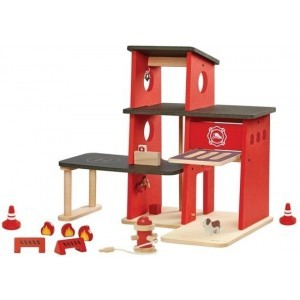 Fire Station - Plan Toys (4006272)