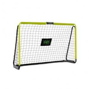 Exit Tempo Steel Football Goal 180x120cm - Green / Black