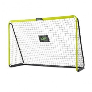 Exit Tempo Steel Football Goal 240x160cm - Green / Black