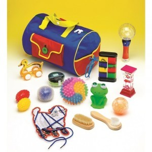 Sensory-on-the-Go Bag - Explore your senses (42255)