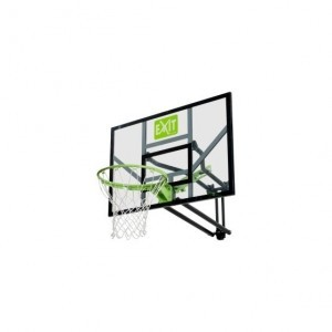 Galaxy basketball board for wall mounting - green / black - Exit (46.01.10.00)