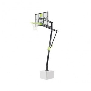 Exit Galaxy Ground-mounted Basketball Backboard - Green / Black