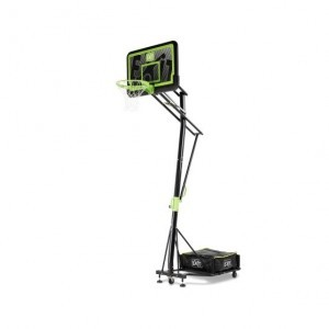 Exit Galaxy Portable Basketball Backboard On Wheels - Black Edition
