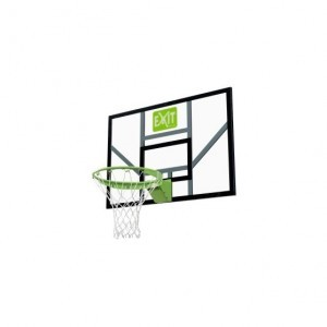 Exit Galaxy Basketball Backboard with Dunk Ring And Net - Green / Black