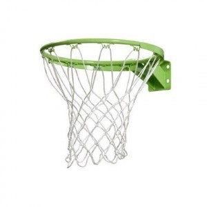 Exit Basketball Ring with Net - Green