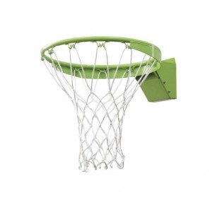Basketball dunkring with net - green - Exit (46.50.30.00)