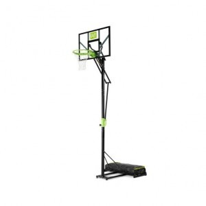 Exit Polestar Portable Basketball Backboard - Green / Black
