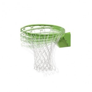 Exit Polestar Portable Basketball Backboard With Dunk Ring - Green / Black