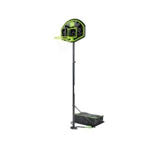Hoopy junior portable basketball board - green / black - Exit (46.70.10.00)