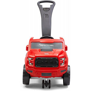 Step2 2-in-1 Ford F-150 Raptor Kids Ride On Push Car Red