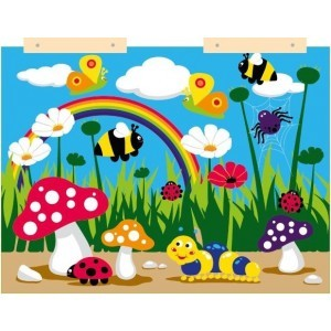 Nature Wall Panel - Sensory Toy (4VKNT)