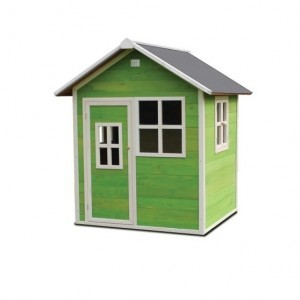 Exit Loft 100 Wooden Playhouse - Green