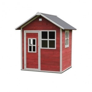 Exit Loft 100 Wooden Playhouse - Red