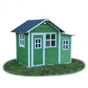 Loft 150 wooden playhouse - green - Exit (50.02.12.00)