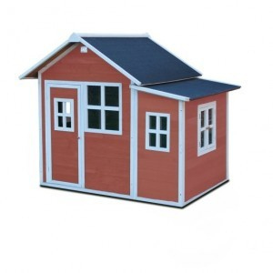 Loft 150 wooden play house - red - Exit (50.02.13.00)