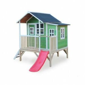 Exit Loft 350 Wooden Playhouse - Green