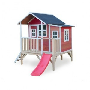 Exit Loft 350 Wooden Playhouse - Red