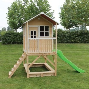 Loft 500 wooden playhouse - natural - Exit (50.05.21.00)