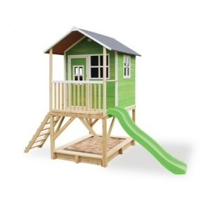 Exit Loft 500 Wooden Playhouse - Green