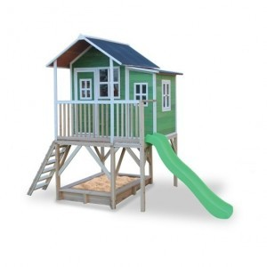 Exit Loft 550 Wooden Playhouse - Green