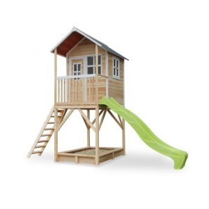 Loft 700 wooden play house - natural - Exit (50.07.21.00)