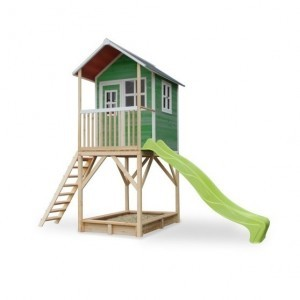 Exit Loft 700 Wooden Playhouse - Green