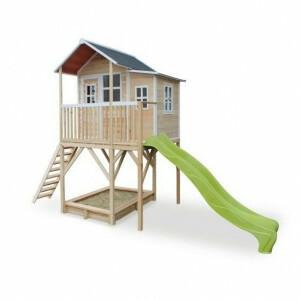 Exit Loft 750 Wooden Playhouse - Natural