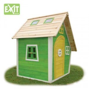 Wooden Playhouse Fantasia 100 (Green) - EXIT (50.10.00.00)