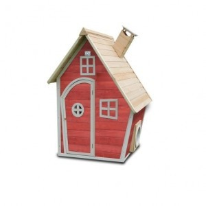 Fantasia 100 wooden play house - red - Exit (50.10.03.00)