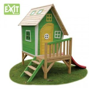Wooden Playhouse Fantasia 300 (Green) - EXIT (50.11.10.00)