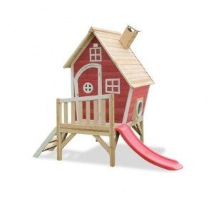 Exit Fantasia 300 Wooden Playhouse - Red