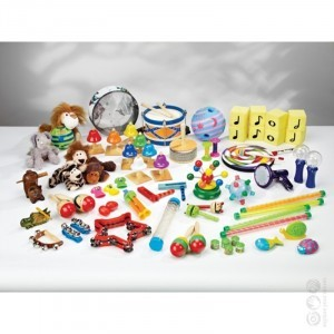 MEGA Auditory Discovery Tub - Explore your senses (50104)