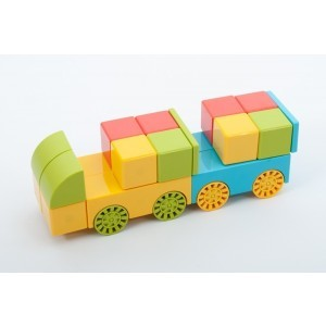 Magnetic Block Set - Pk36
