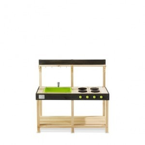 Exit Yummy 100 Wooden Outdoor Kitchen - Natural