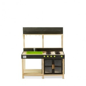 Exit Yummy 200 Wooden Outdoor Kitchen - Natural