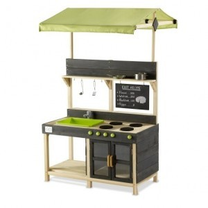 Exit Yummy 300 Wooden Outdoor Kitchen - Natural